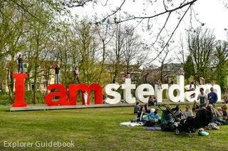 I amsterdam vondelpark