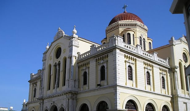 Agios Minas Church Crete Greece