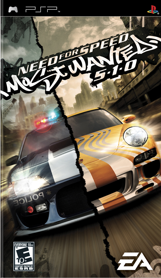 ROMs - Need for Speed - Most Wanted - PSP Download
