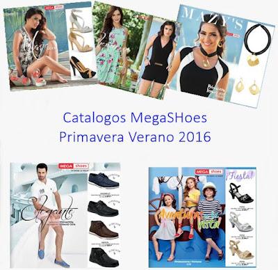 catalogos megashoes 2016 primavera verano