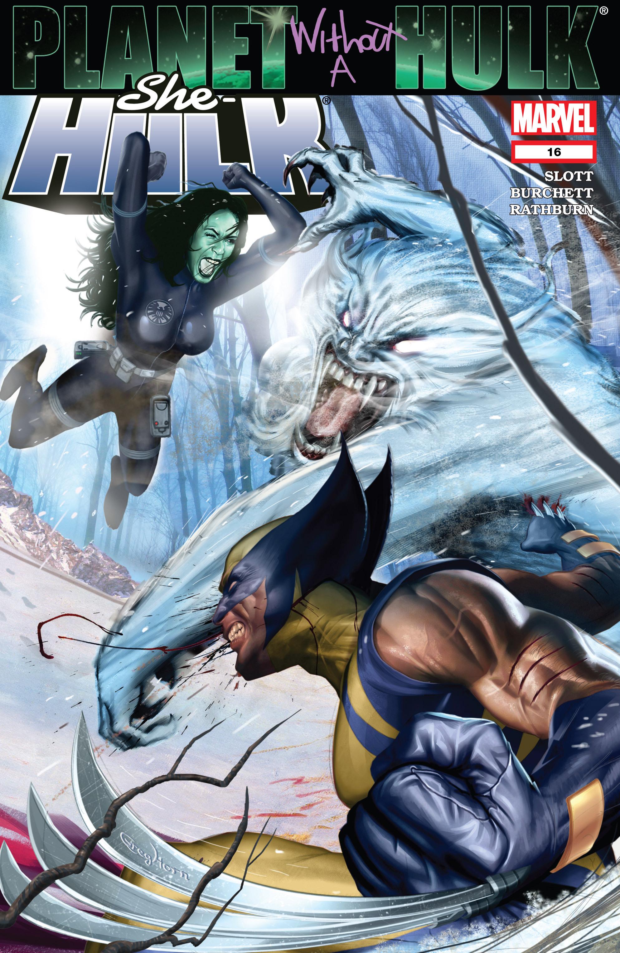 Read online She-Hulk (2005) comic -  Issue #16 - 1