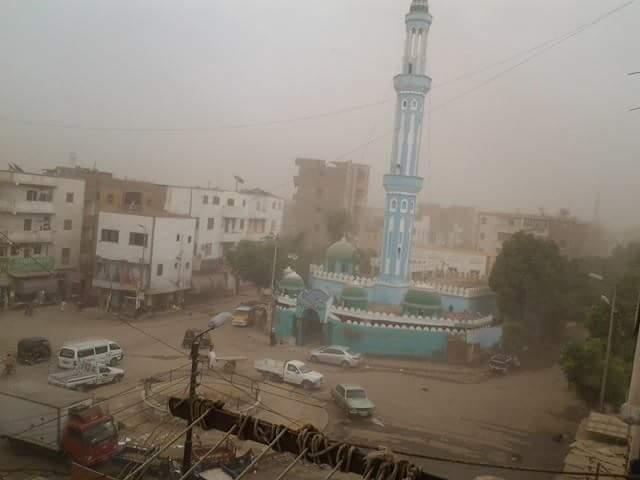 الارصاد تحذر من الطقس السيء وعاصفة ترابية تضرب البلاد