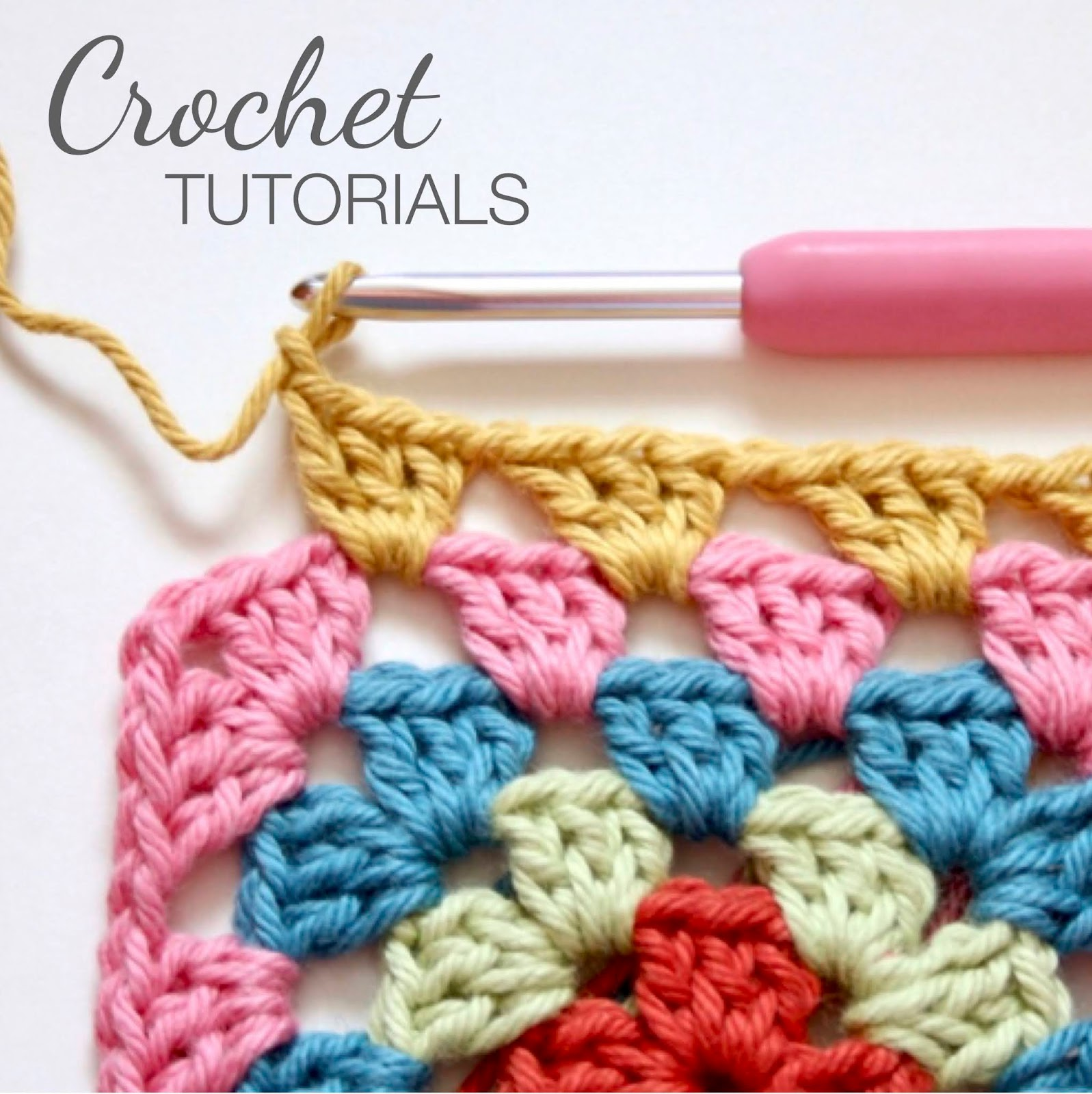 Crochet Tutorials Link