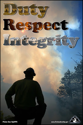 DUTY RESPECT INTEGRITY