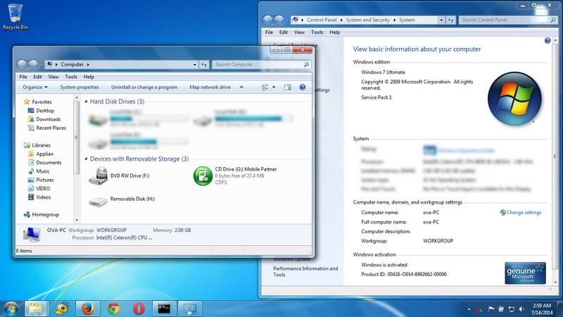 Windows 7 Ultimate SP1 Update Mei 2019 Free Download