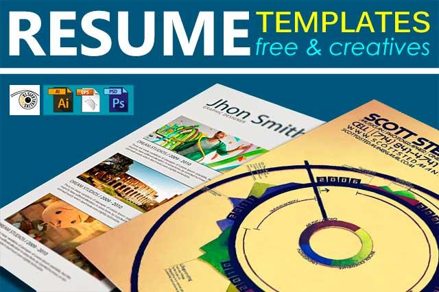 25 Free Creative Resume Templates by Saltaalavista Blog