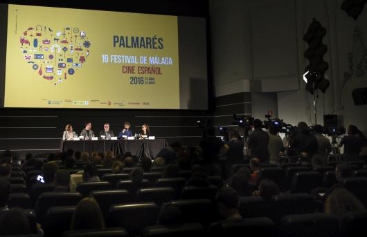 Palmarés de la 19 edición del Festival de Málaga. Cine Español