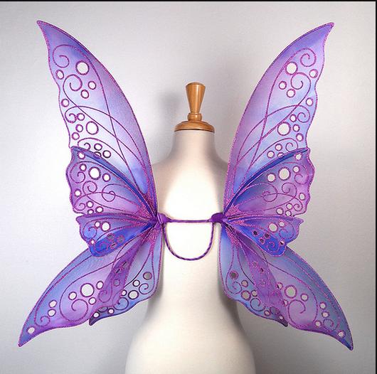 tutorial asa de fada fairy wing tutorial