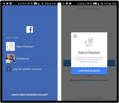 Ways to Instagram Login With Facebook