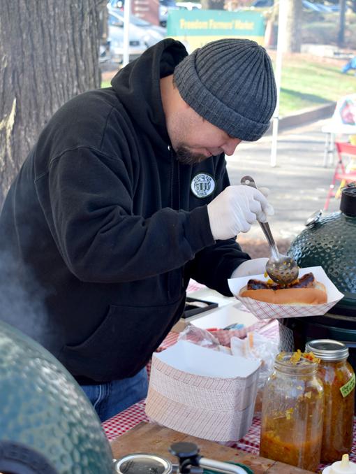 Chef Terry Koval, Wrecking Bar Brew Pub | Freedom Farmers Market | Photo: Travis S. Taylor