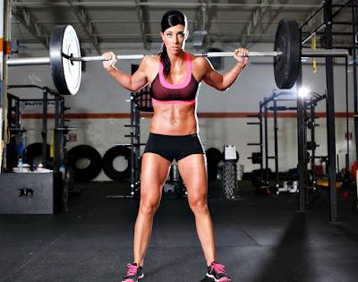 Mitos entrenamiento pesas mujeres sentadilla barra