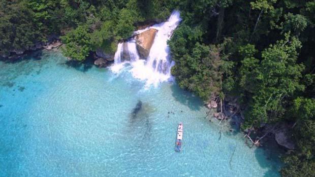 Air Terjun Kiti Kiti Papua, Pesona Dua Obyek Wisata dalam Satu Area