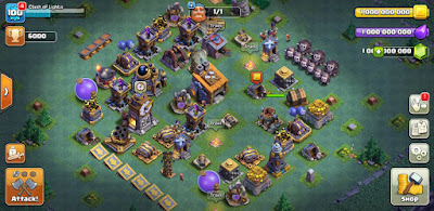 Clash of Lights - Clash of Clans Mod Apk