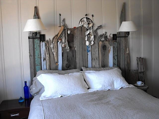 Boiserie c testate da letto progetto fai da te diy - Testate letto con cuscini ...