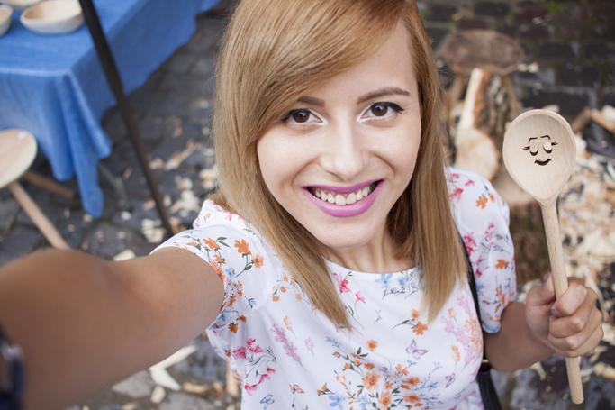 vision on fashion selfie