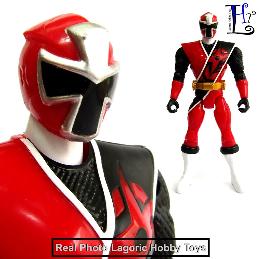 Power Rangers Basic Ninja Steel Red Ranger | Lagoric Museum