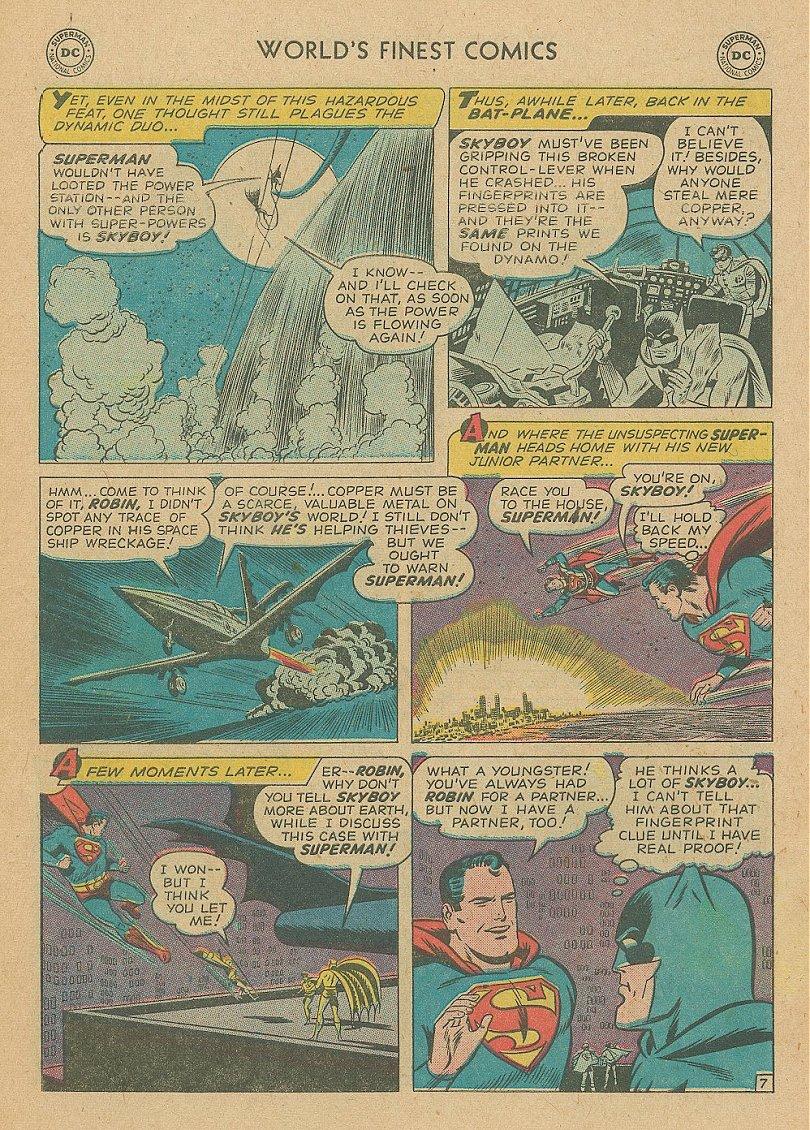 Read online World's Finest Comics comic -  Issue #92 - 22