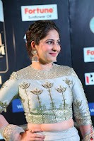 Gouri Munjal in a Tight Pista Coloured Ghagra Choli at IIFA Utsavam Awards 007.JPG