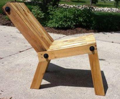 Kursi Minimalis dari Kayu Bekas – DIY Pallete Wood Chair