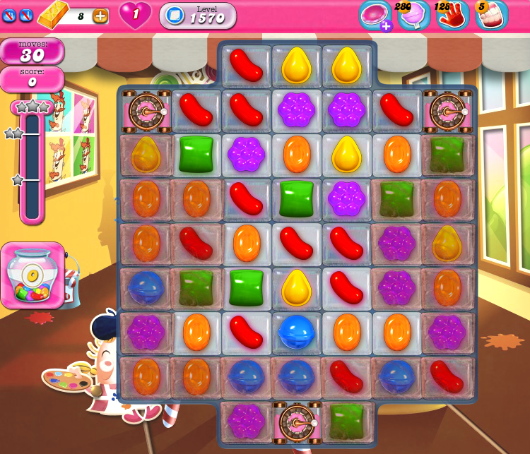 Candy Crush Saga 1570