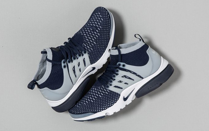 free shipping cecd2 25618 Nike Air Presto Ultra Flyknit Navy Grey Georgetown