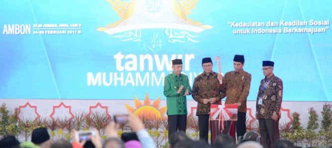 Presiden Joko Widodo mengaku sudah tiga kali menerima keluhan dari Gubernur Maluku Said Assagaff dan Wakil Gubernur Maluku Zeth Sahuburua tentang ketidakadilan pembangunan di daerah ini, terutama menyangkut penghitungan dan pembagian dana alokasi umum (DAU).