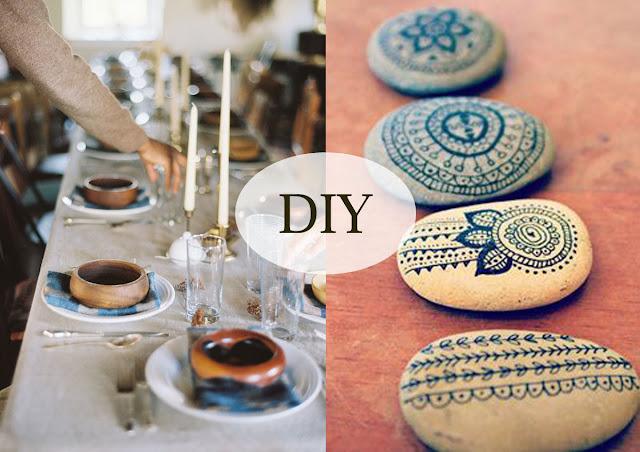 DIY - svatební tabule a dekorace