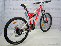 4 Sepeda Gunung Wimcycle Boxer 3.0 24 Speed Shimano Full Suspension 26 Inci 4