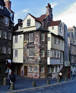 Edinburgh the John Knox House