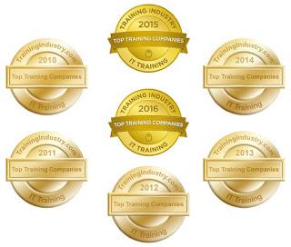 Firebrand zum siebten Mal in Folge unter den Top 20 IT Training Companies weltweit!