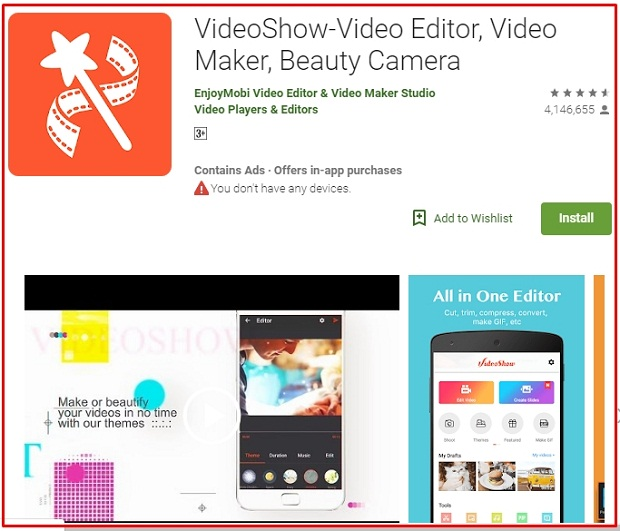 Software Edit Video Android VideoShow Terbaik 2019