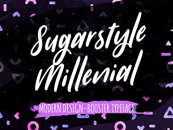 Sugarstyle Millenial Script Font Free Download