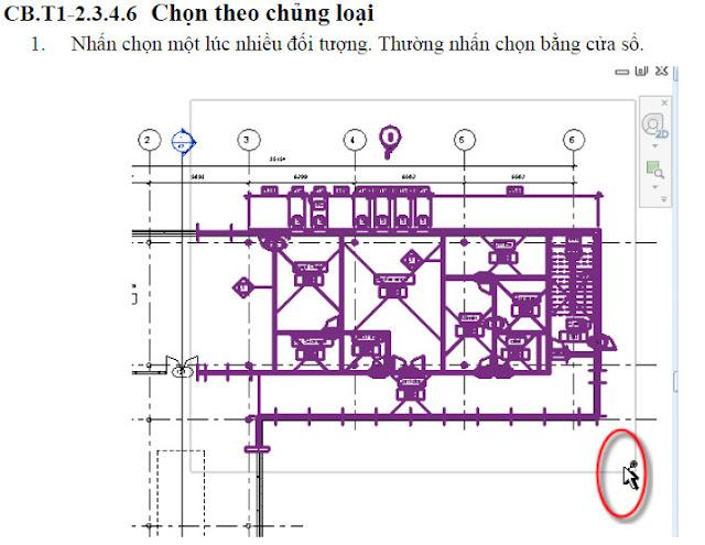 Cách chọn đối tượngk trong Revit 2014 đến 2016 Chon-dtuong-11