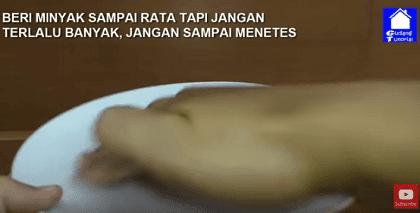Menangkap nyamuk dengan piring plastik