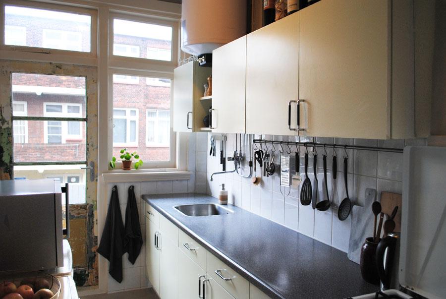 Dutch design on a budget foto op glas in de keuken