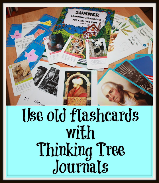 Use Flashcards with Thinking Tree Journals