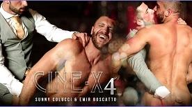 Cine-X4 – Emir Boscatto & Sunny Colucci
