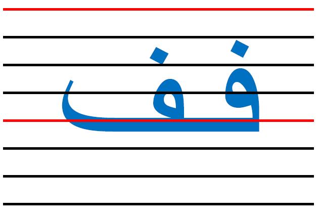 x11 - المقاييس الصحيحة  في الكتابة لكل الحروف العربية