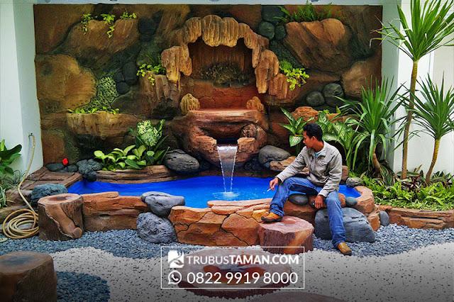 Tukang Taman Jakarta - taman dekorasi Goa maria