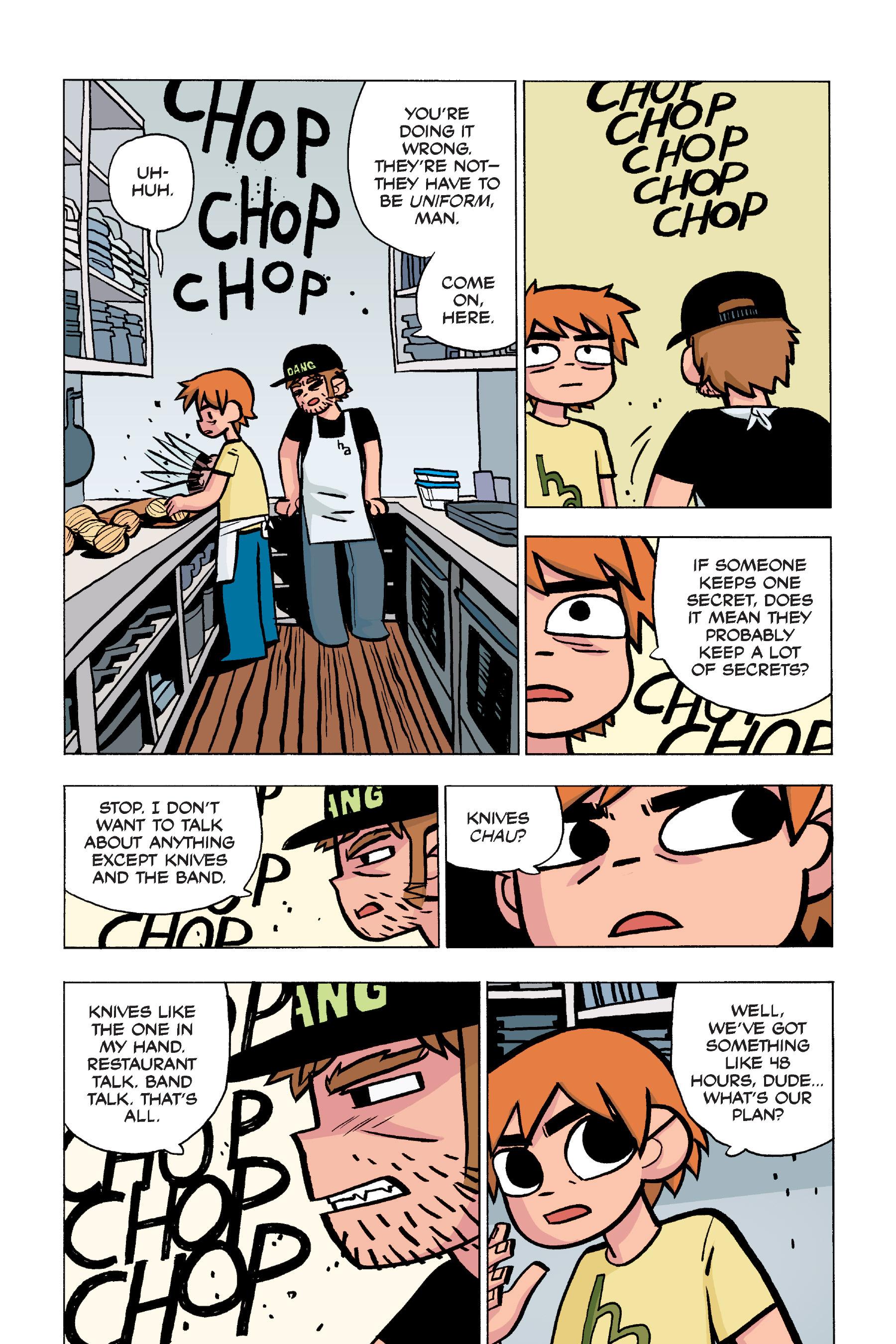 Read online Scott Pilgrim comic -  Issue #5 - 45