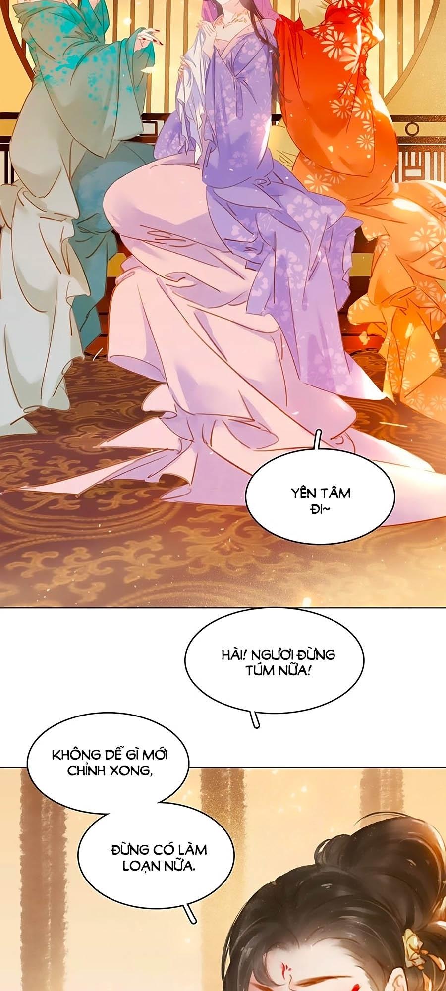 Tiểu sư phụ, tóc giả của ngài rơi rồi! chap 12 - Trang 11