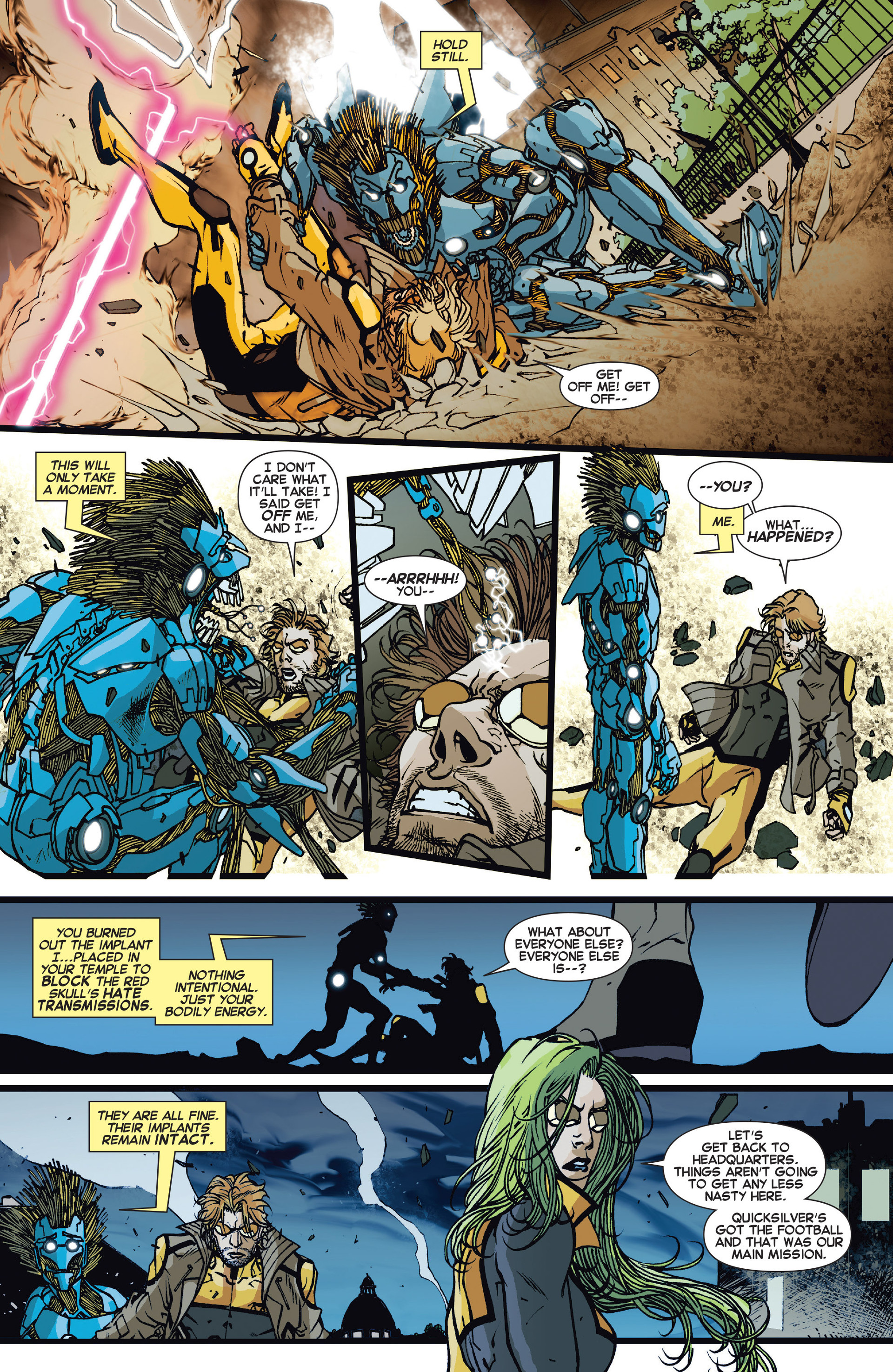 Read online All-New X-Factor comic -  Issue #15 - 18