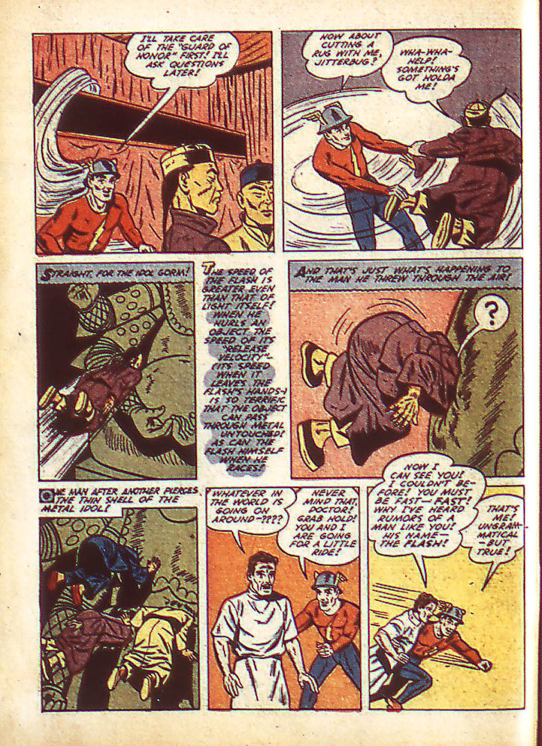 Flash Comics issue 22 - Page 10