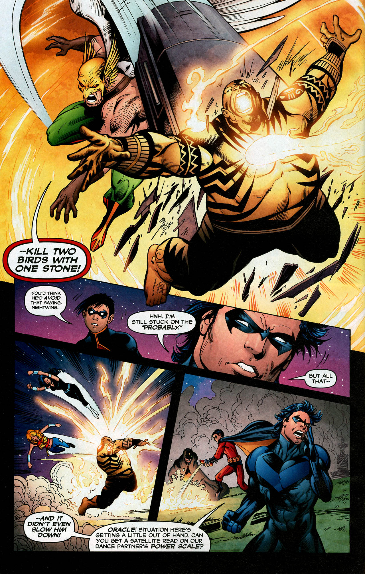Read online Trinity (2008) comic -  Issue #14 - 22