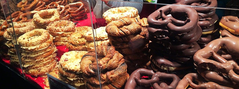 different pretzel varieties