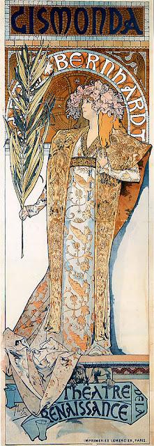 Gismonda, Sarah Bernhardt