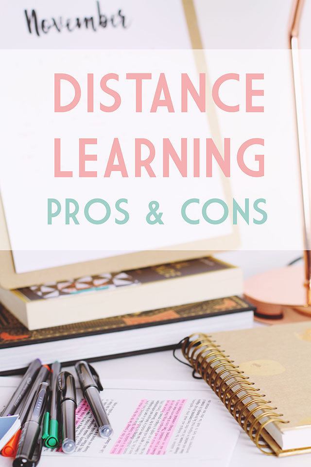 Benefits and drawbacks of distance learning