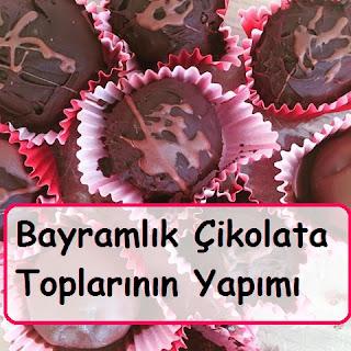 Bayramlık Çikolata Toplarının Yapımı