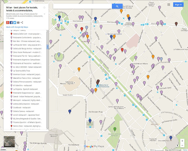 milan interactive google map of sempione district area best for hotels, restaurants, bars, cafes, shopping, metro stations