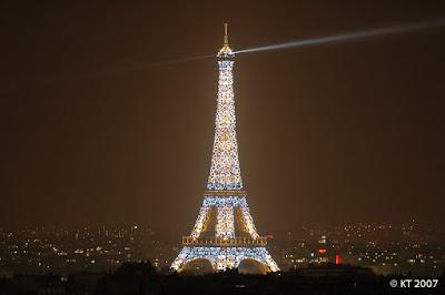 Tour Eiffel kauneimillaan